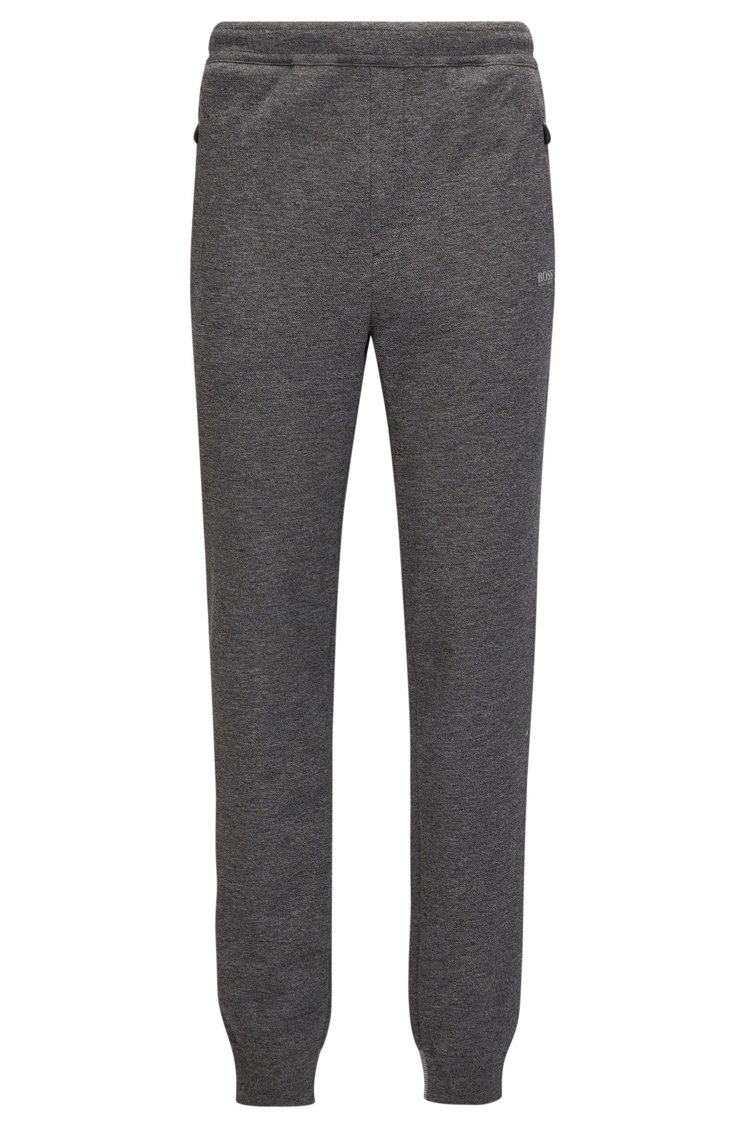 Stretch Cotton Jersey Sweatpant | Helnio , Light Grey