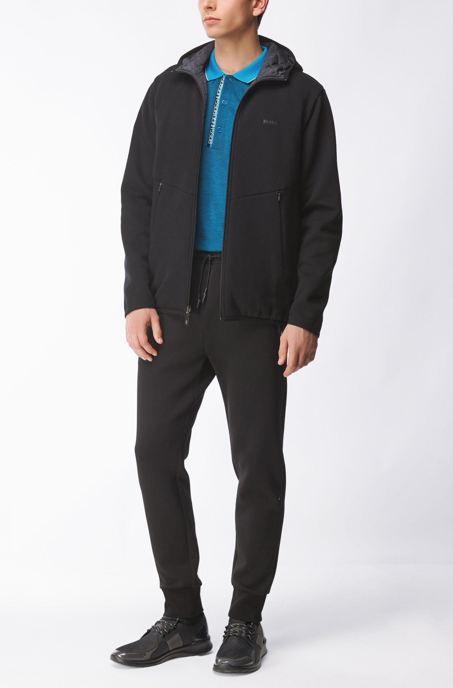Contrast Cotton Polo Shirt, Slim Fit | Pleesy