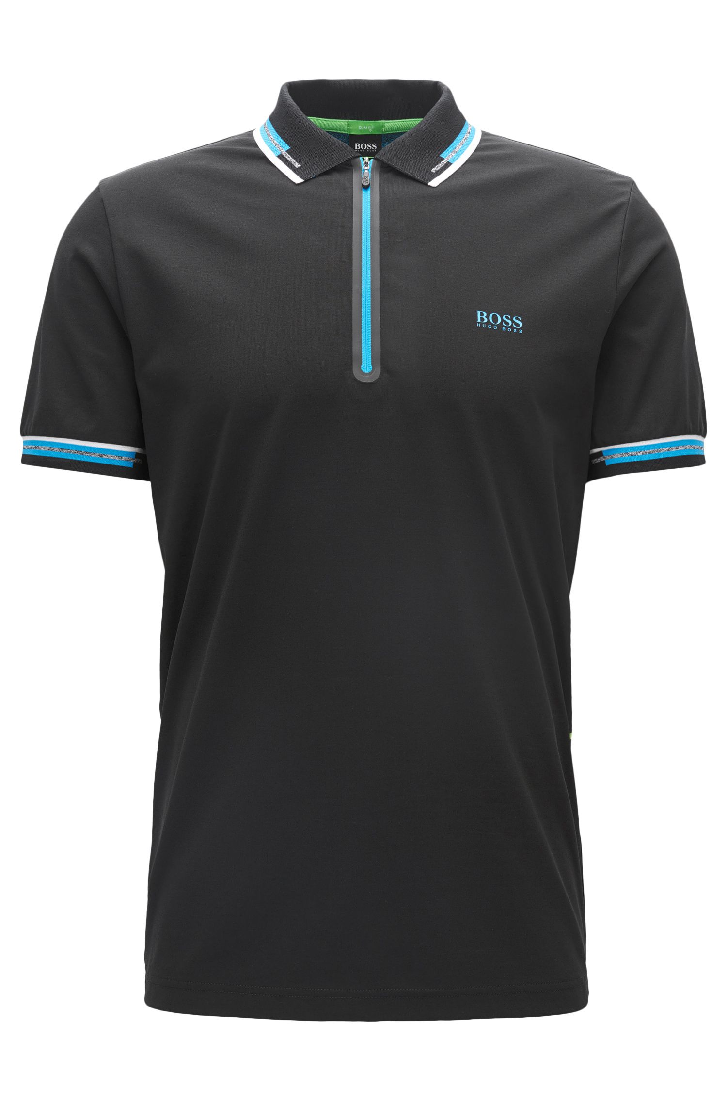 Cotton Blend Polo Shirt   Pariq