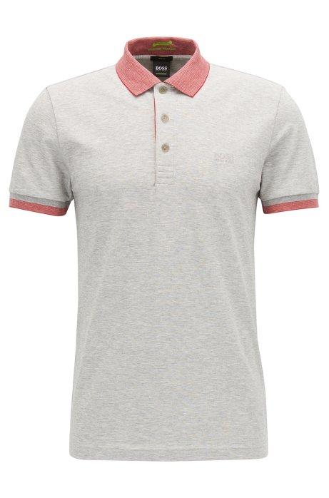 7d817cd33 BOSS - Stretch Cotton Polo Shirt, Slim Fit | Paule