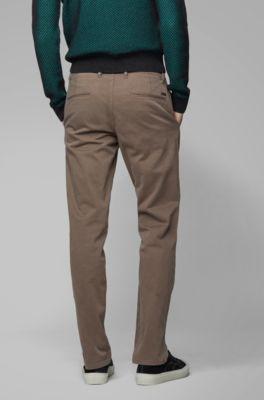 cc3ae940f0 Chino Pants For Men - Slim Fit, Skinny, and Khaki | Hugo Boss
