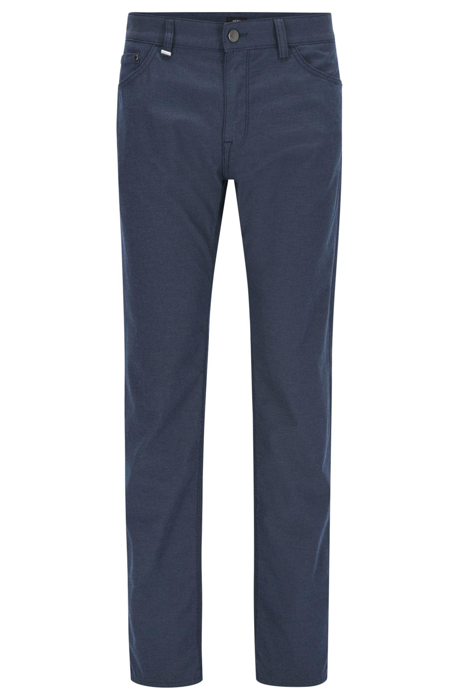 Stretch Cotton Pant, Regular Fit | Maine