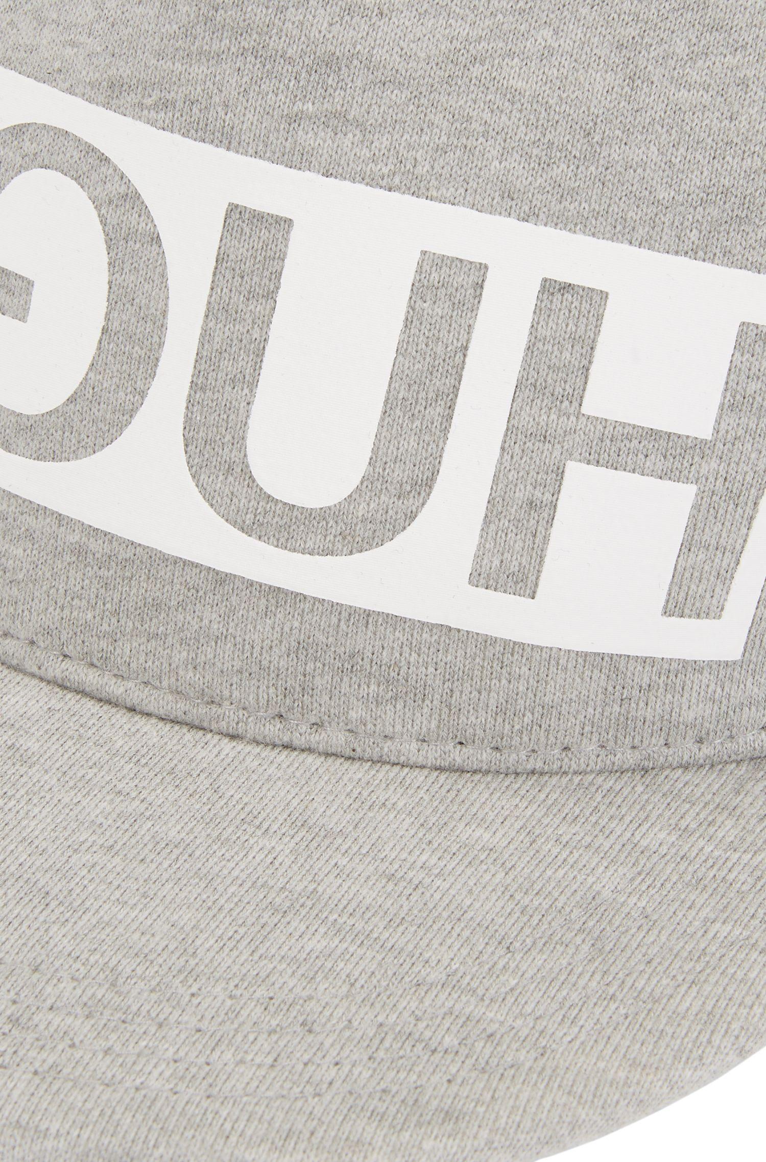 Reverse Logo Flat-Brim Cap | Men X