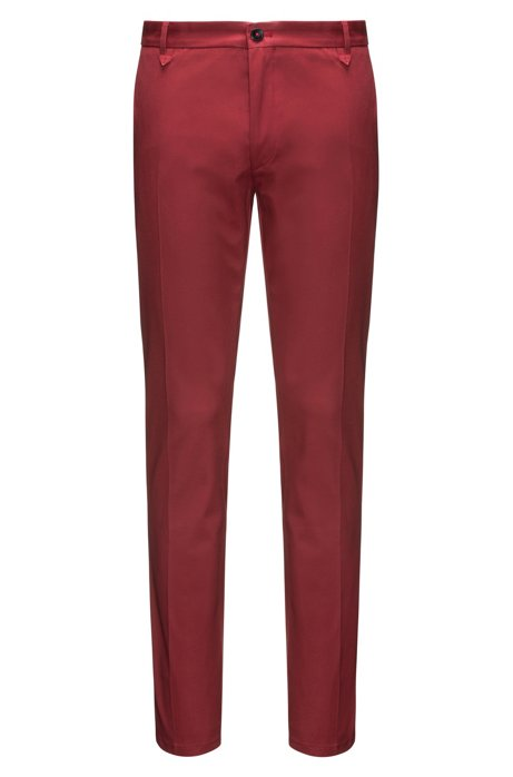 a01dbaa1d0 HUGO - Stretch Gabardine Pant, Extra-Slim Fit | Heldor