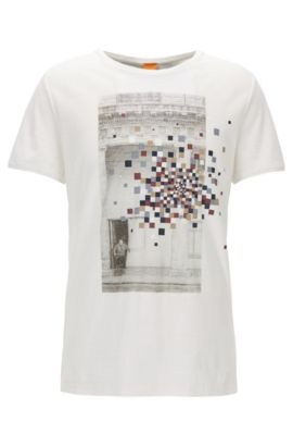 Cotton Graphic T-Shirt | Teacher, Natural