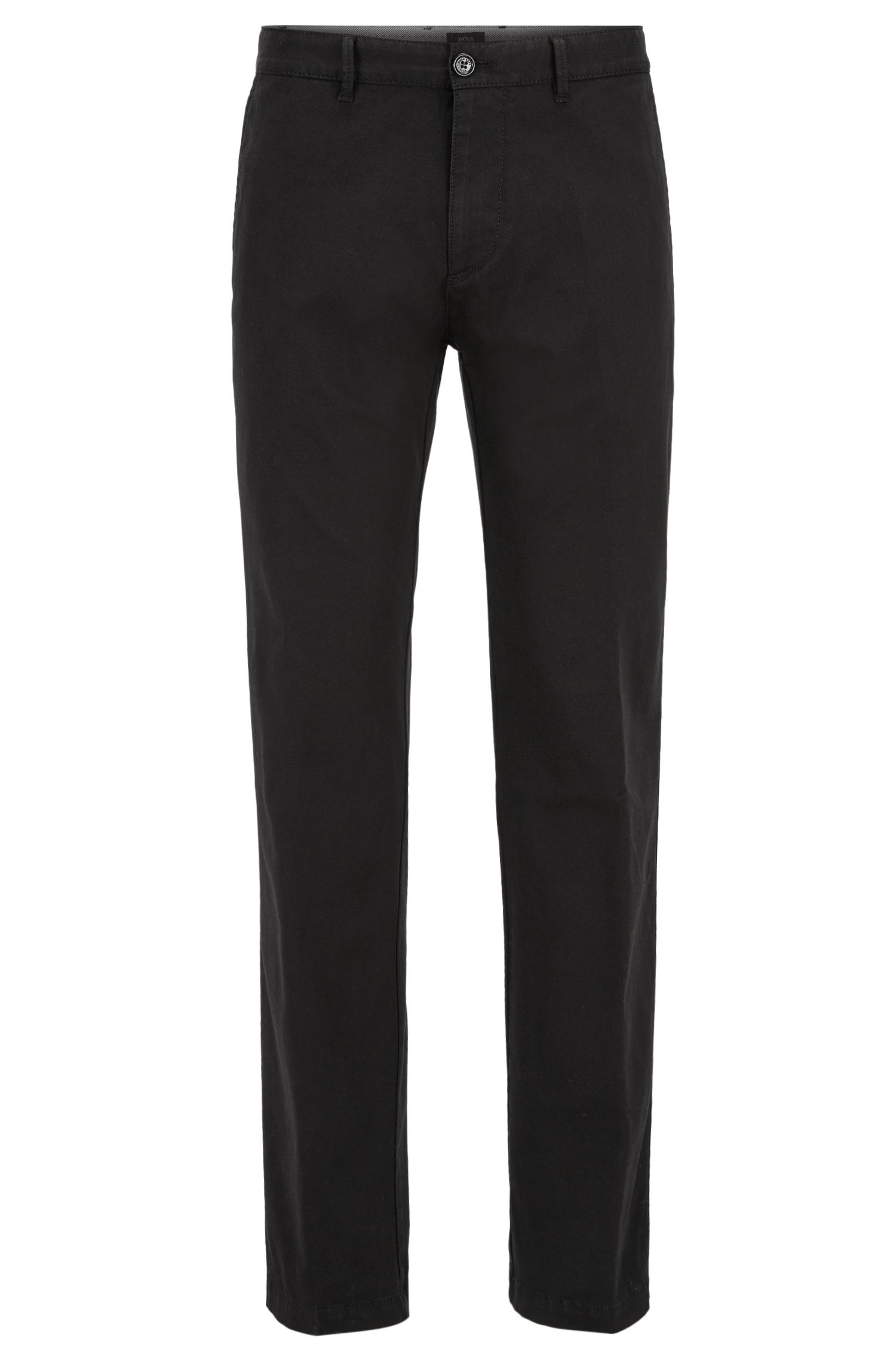 Stretch Cotton Twill Pant, Regular Fit | Crigan W