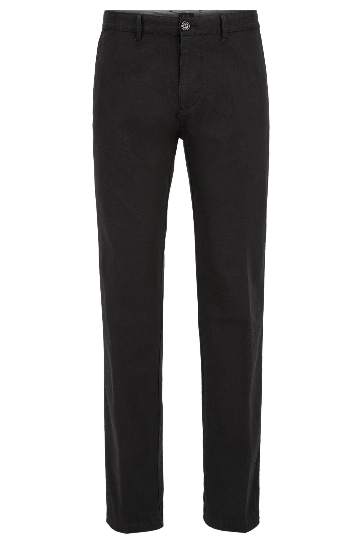 Stretch Cotton Twill Pant, Regular Fit | Crigan W