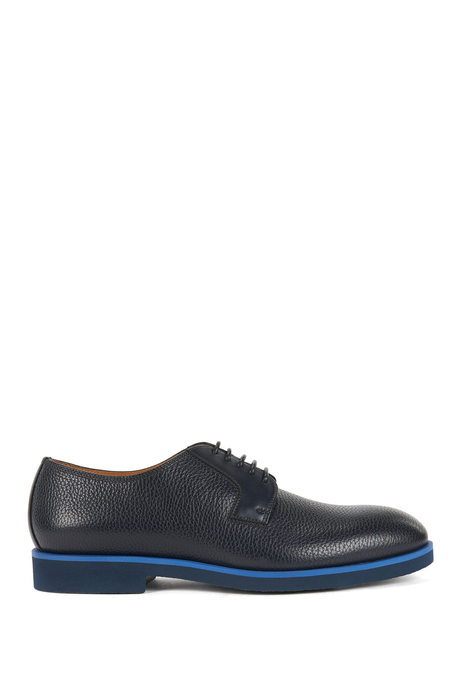 Grained Leather Derby Shoe | Eden