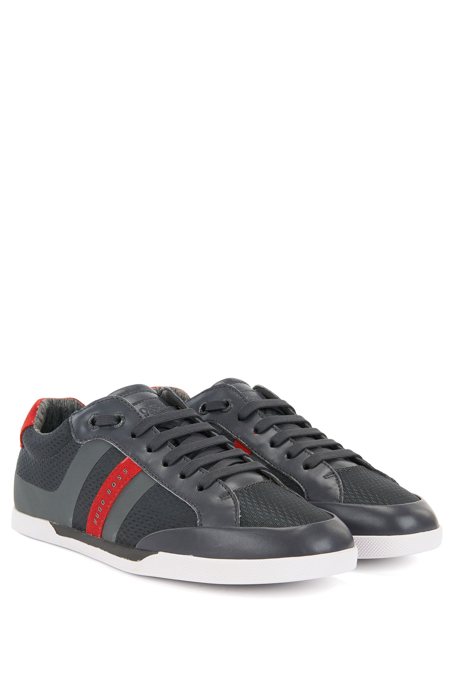 Mesh Sneaker | Shuttle Tenn It, Dark Grey