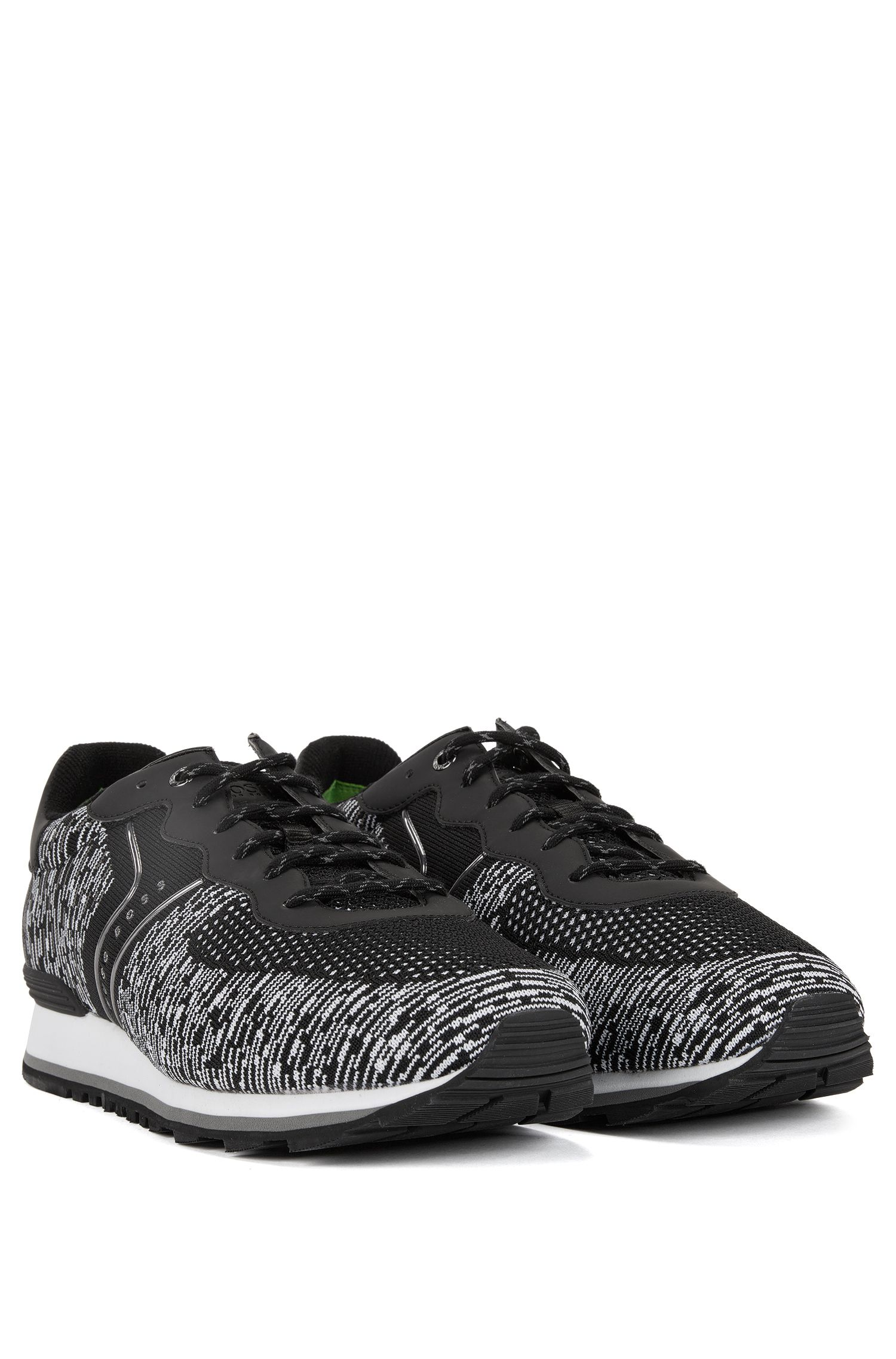 Knit Sneaker | Parkour Runn Knit, Black