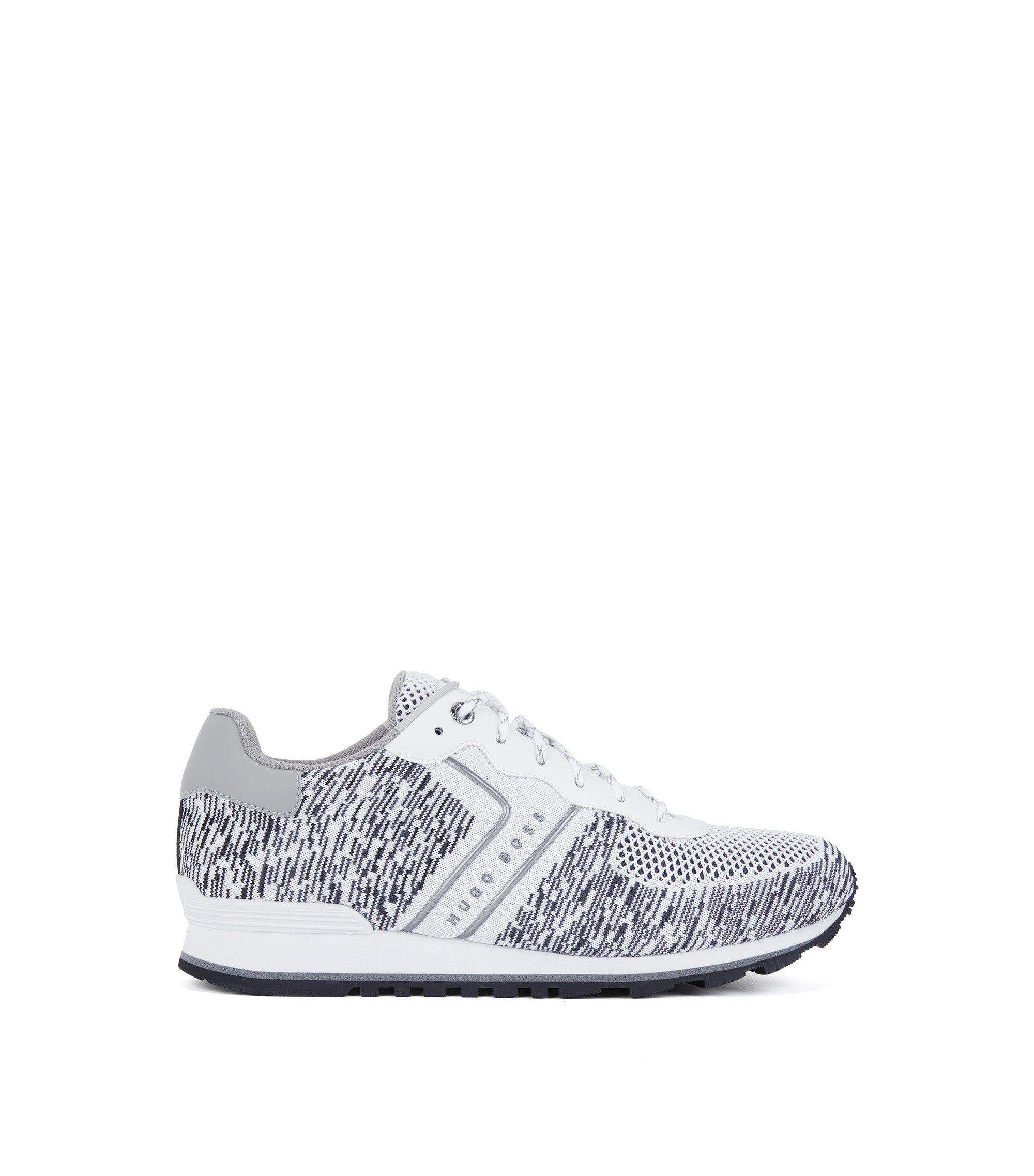 Knit Sneaker | Parkour Runn Knit, White