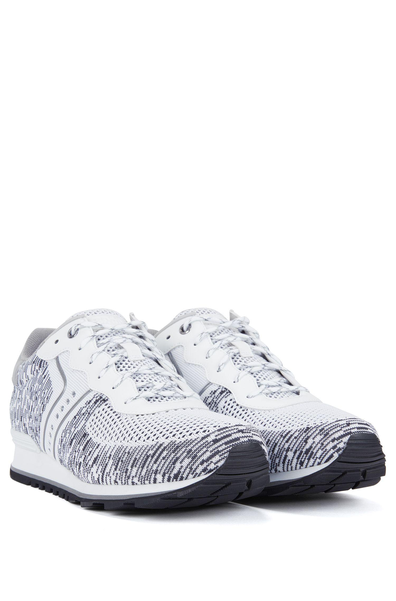 Knit Sneaker | Parkour Runn Knit, White