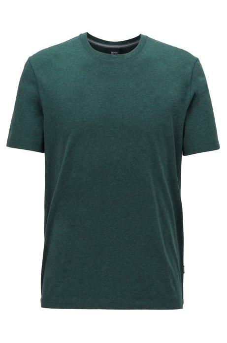 Regular-fit T-shirt in soft cotton, Open Green