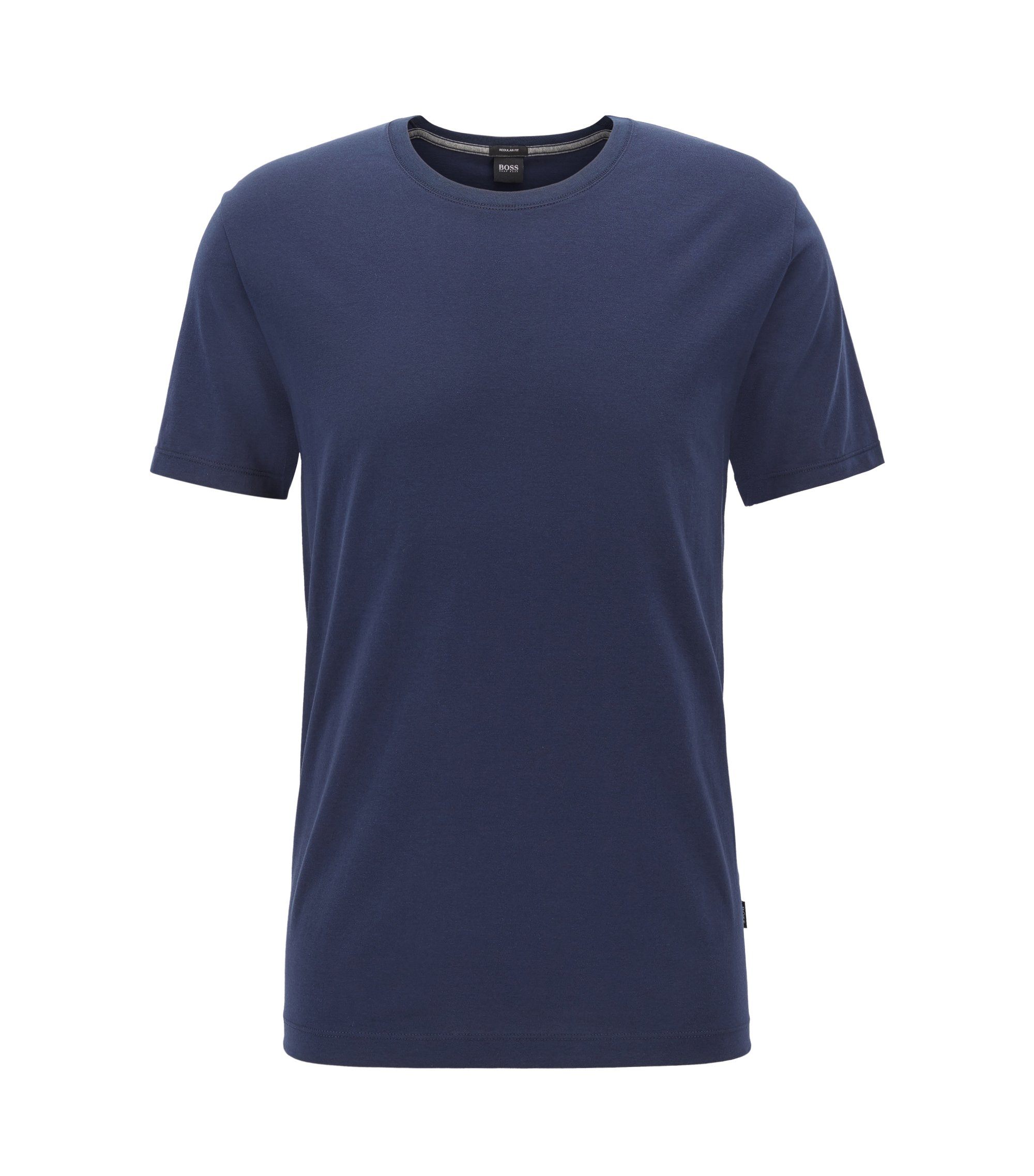 Cotton T-Shirt | Tiburt, Dark Blue