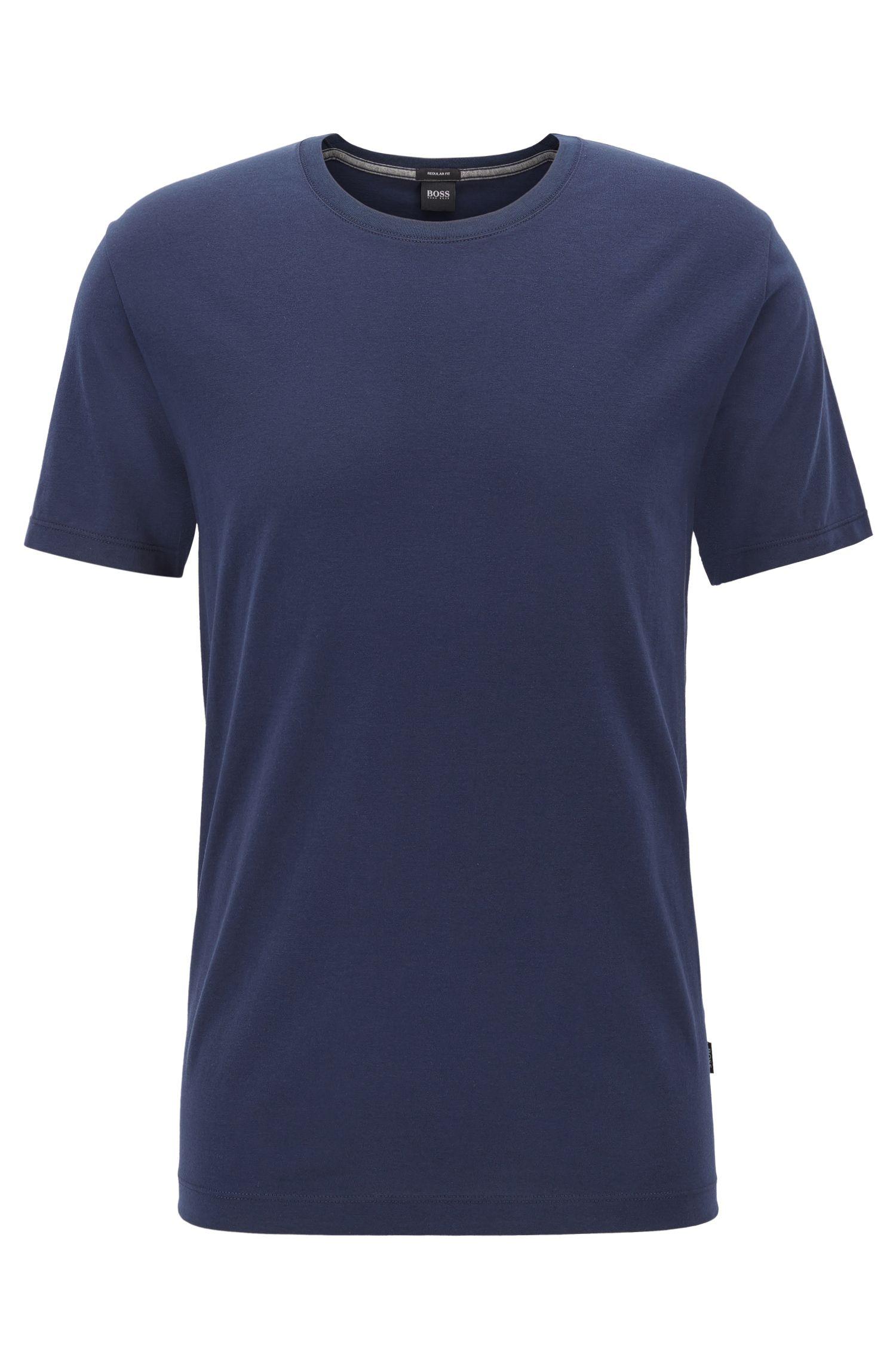 Regular-fit T-shirt in soft cotton