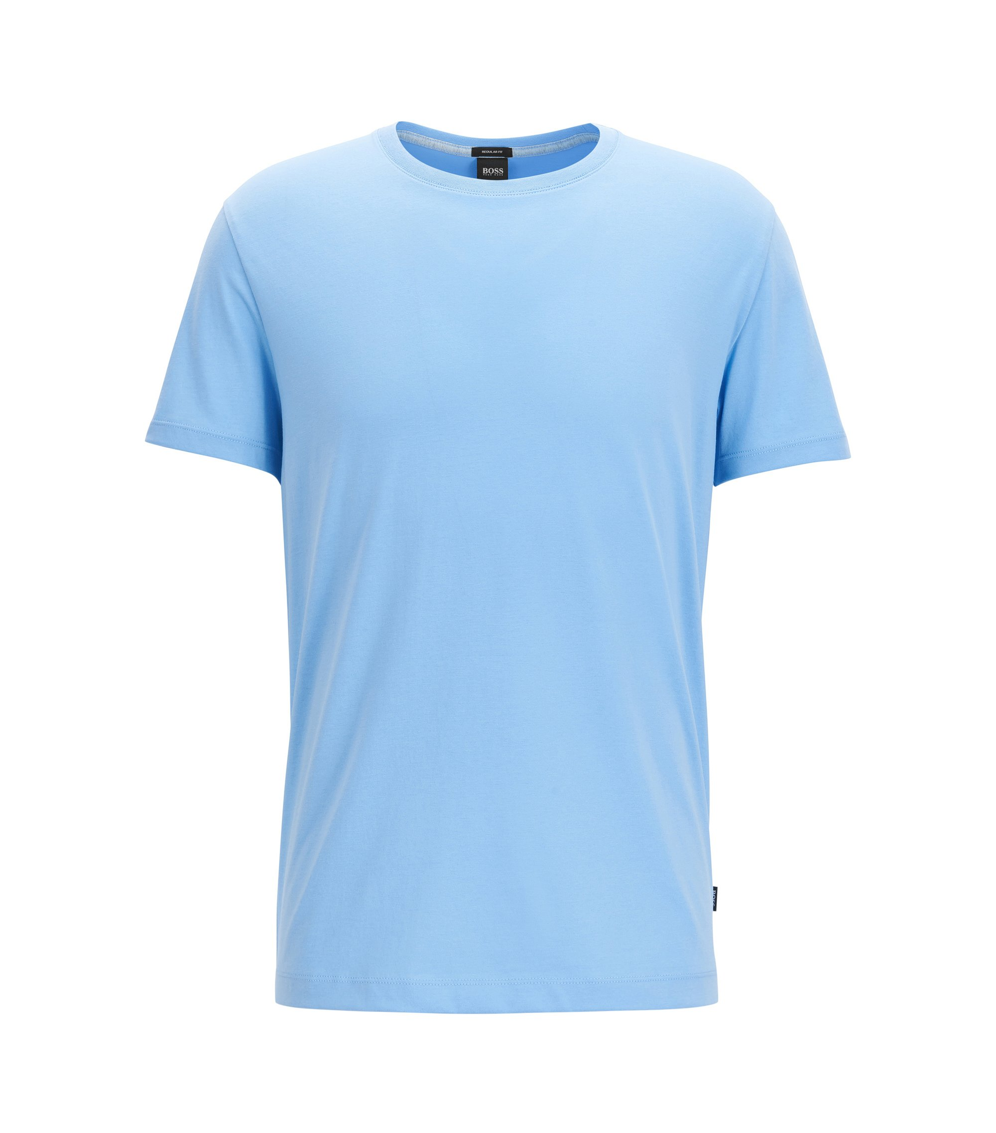 Cotton T-Shirt | Tiburt, Light Blue
