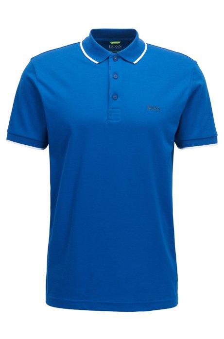 f6f23eb54 BOSS - Tipped Cotton Blend Polo Shirt