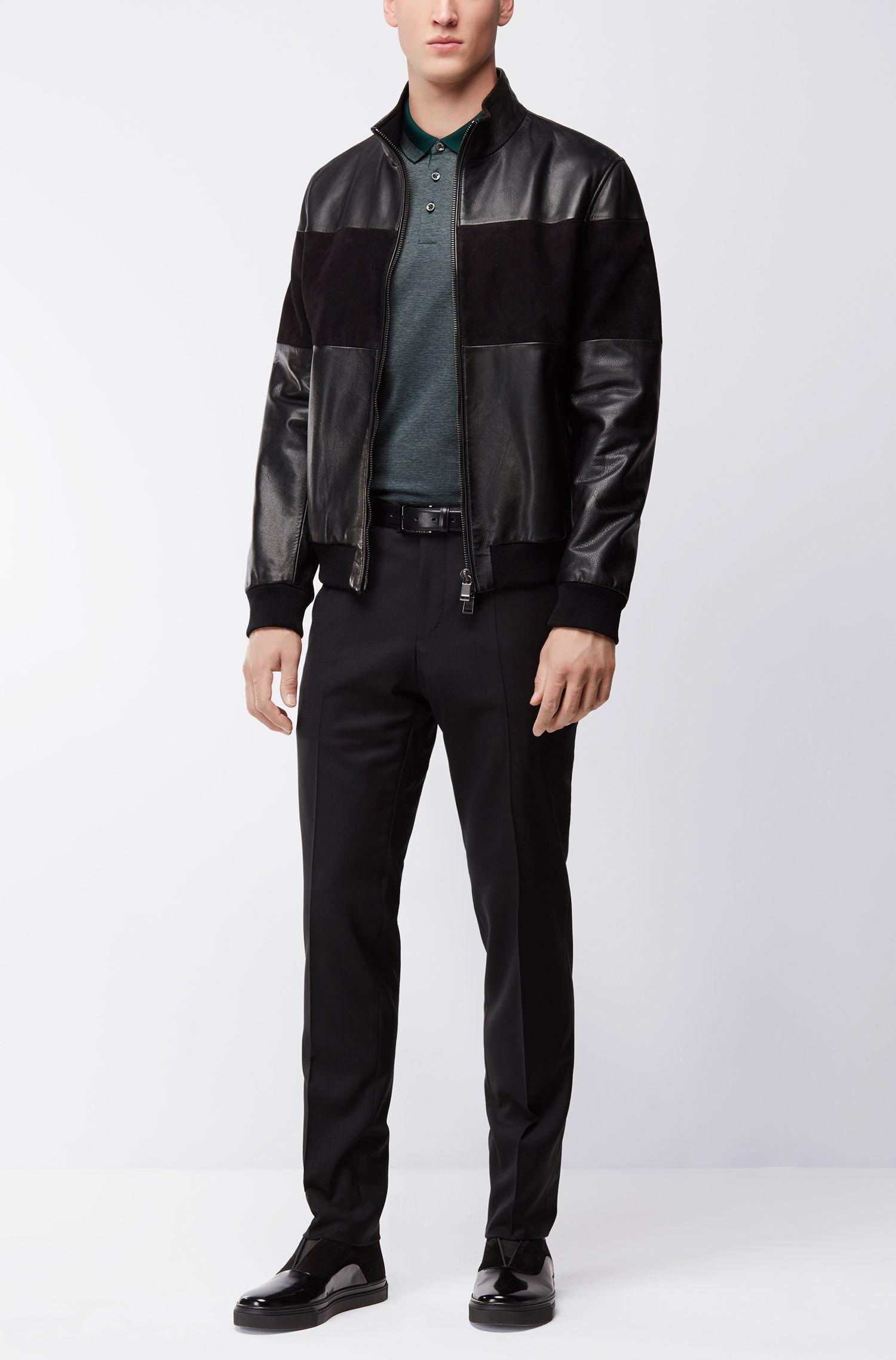 Mercerized Cotton Polo Shirt, Regular Fit | Pado