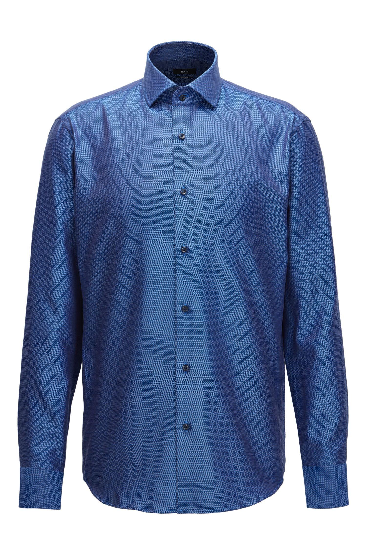 Cotton Dress Shirt, Regular Fit | Gordon