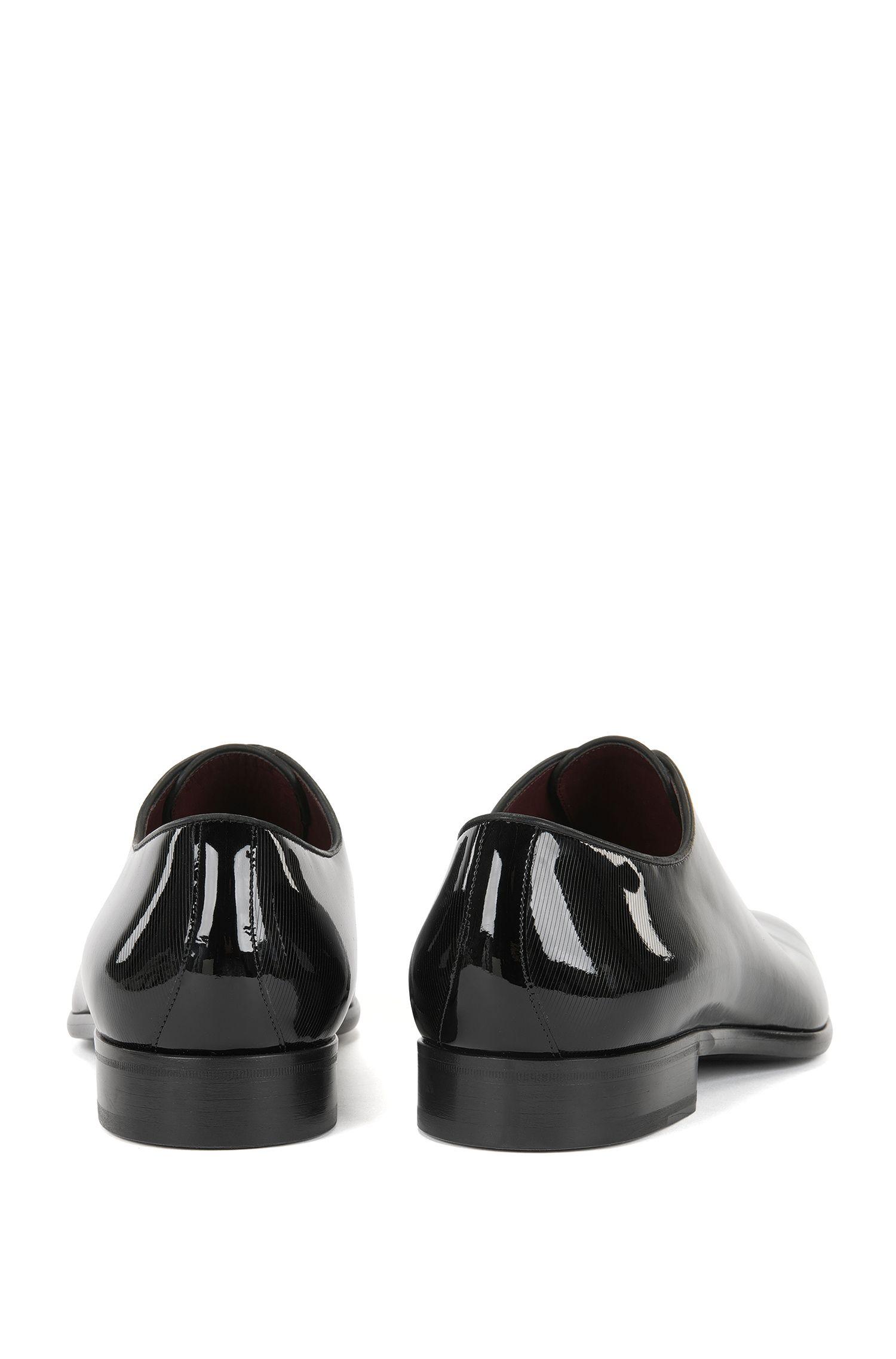 Patent Leather Oxford Shoe | T-Club Oxfr Pals, Black