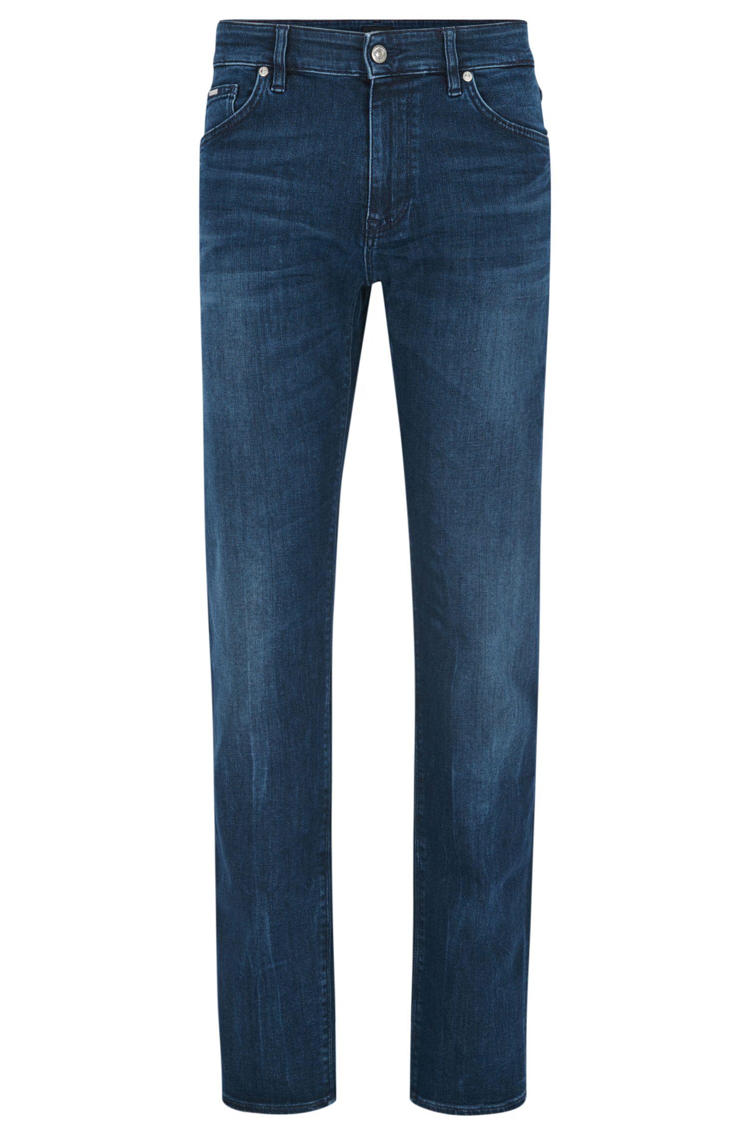 Stretch Cotton Jean, Regular Fit | Maine