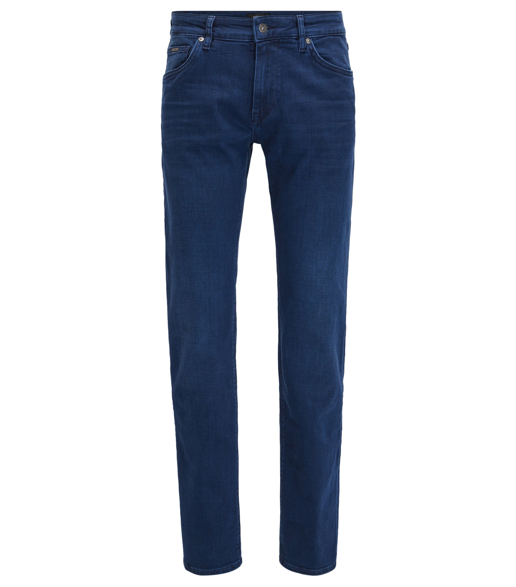 Stretch Cotton Jean, Regular Fit | Maine, Blue
