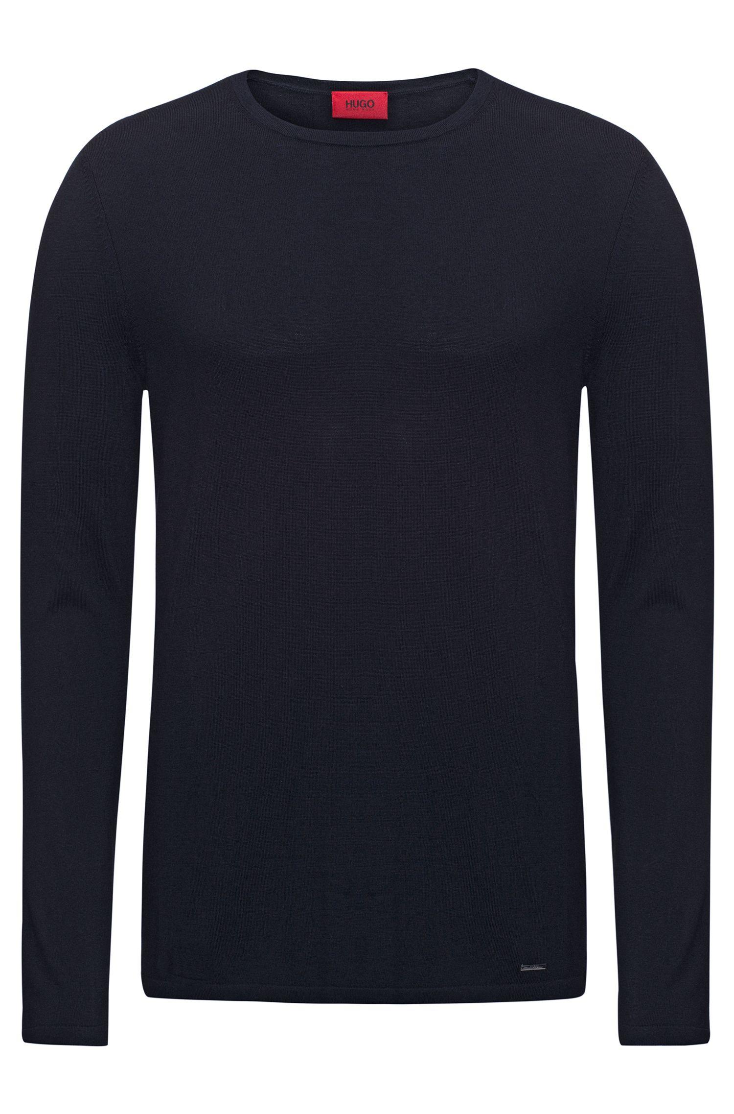 Cotton Blend Sweater   San Bastio
