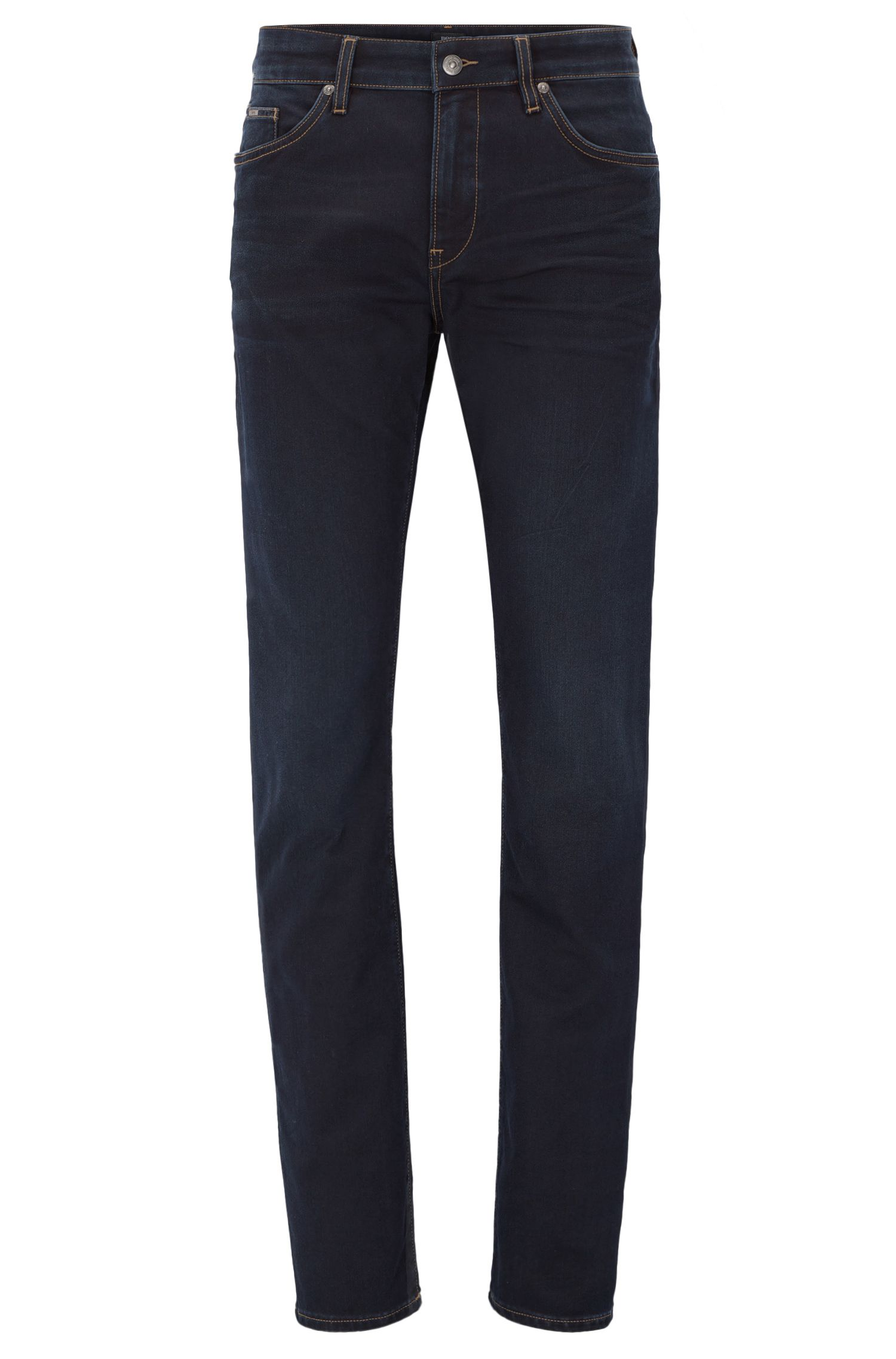 8 oz Italian Stretch Cotton Jeans, Slim Fit | Delaware