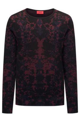 Cotton Blend Sweater | Sorach, Dark Red