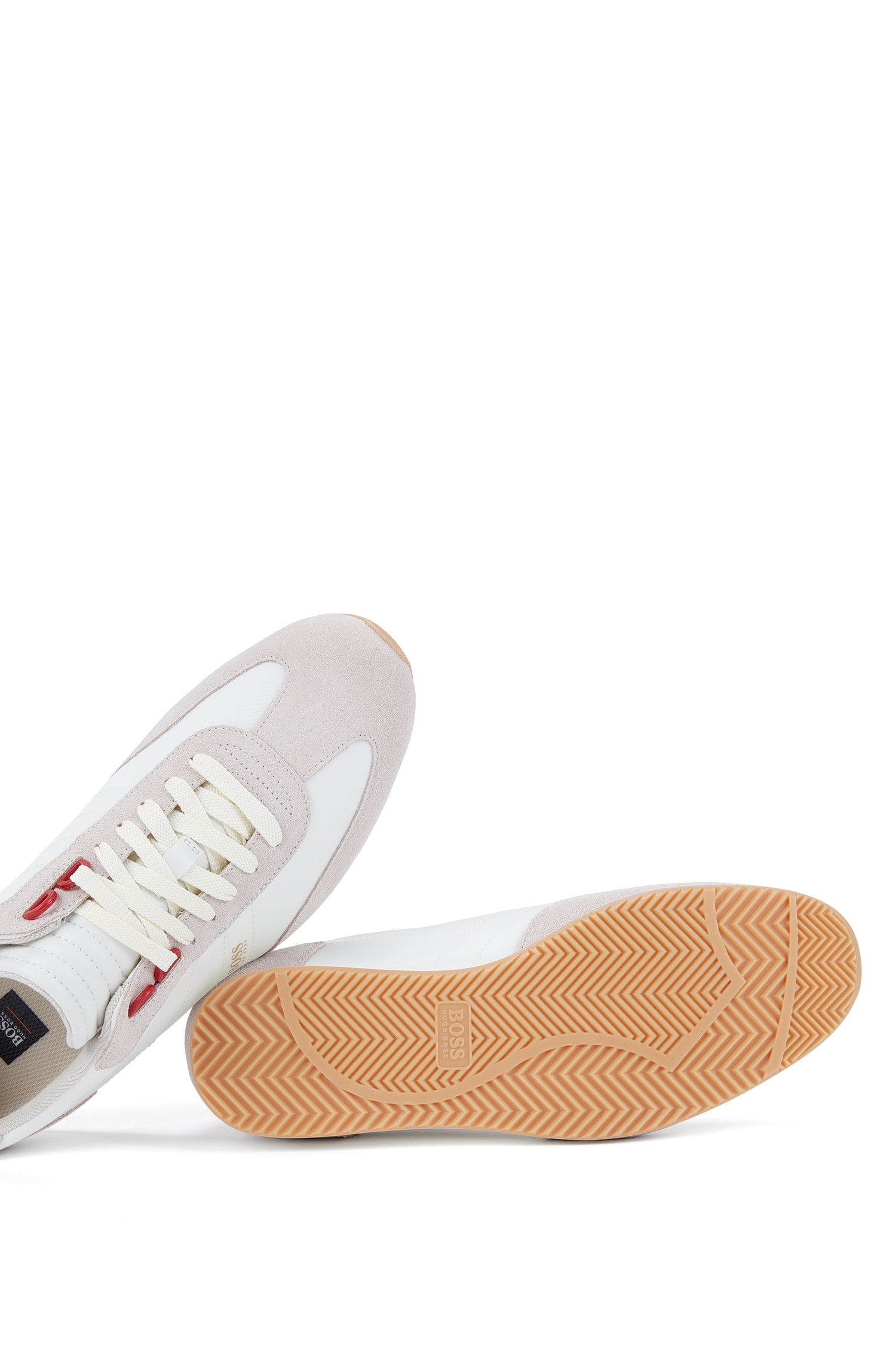 Suede & Nylon Sneaker | Orland Lowp Sdny