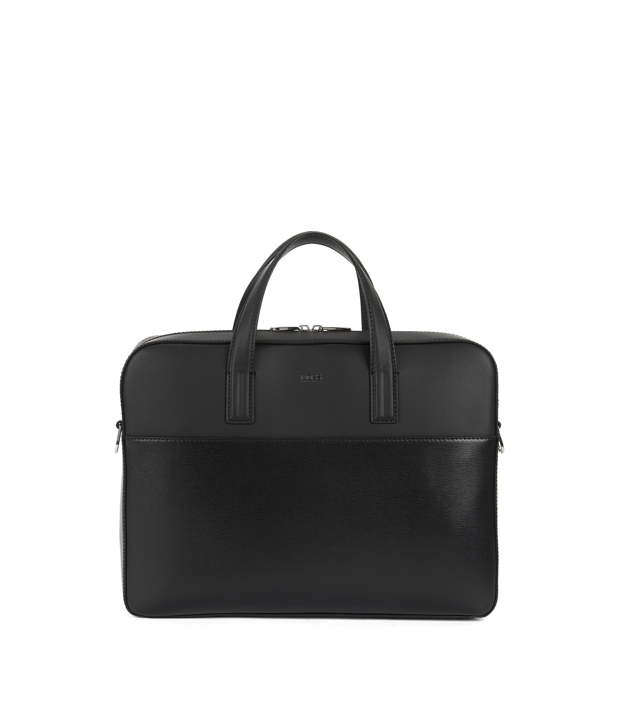 Leather Bag | Focus S Doc, Black