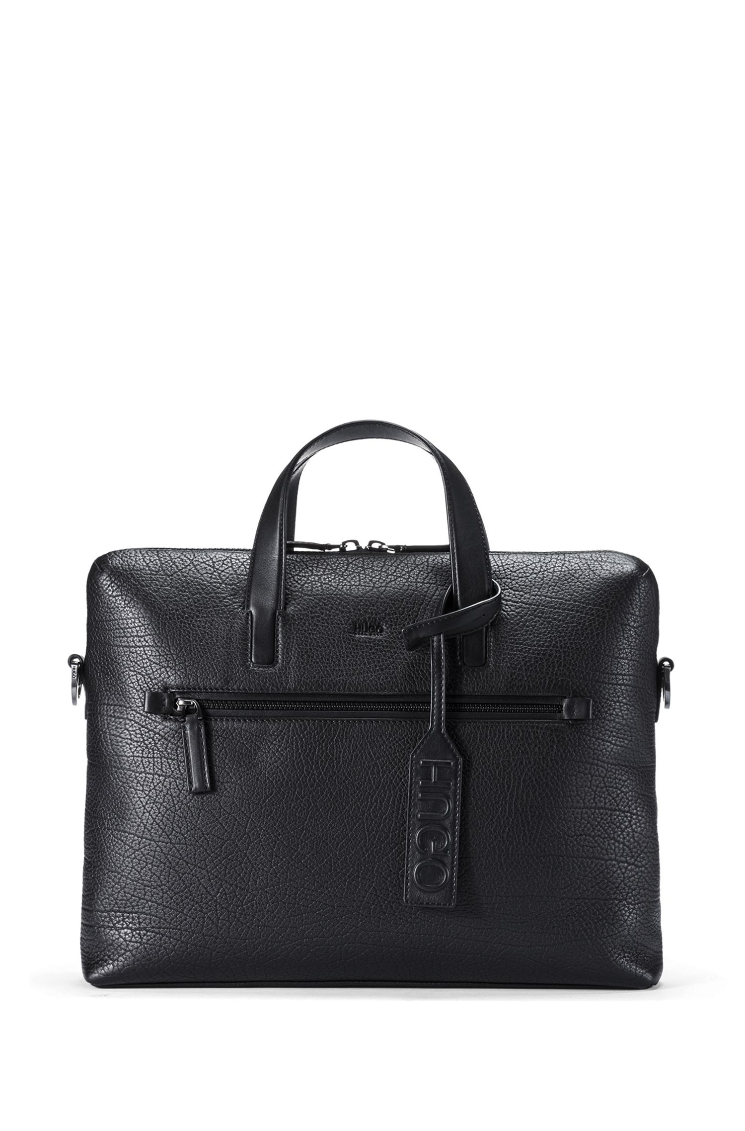 Grained Leather Workbag | Victorian S Doc