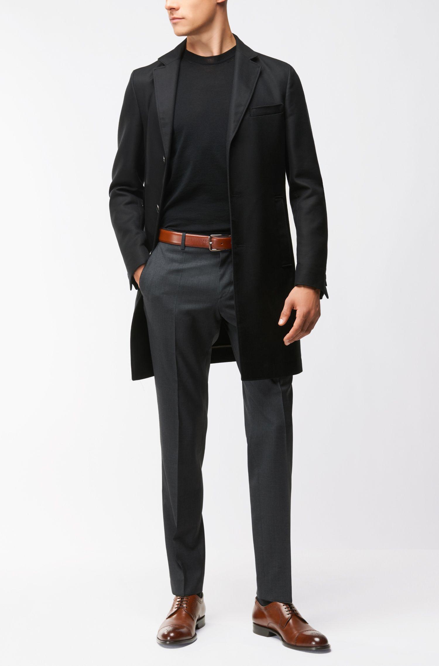 Leather Belt   Calis Sz35, Brown