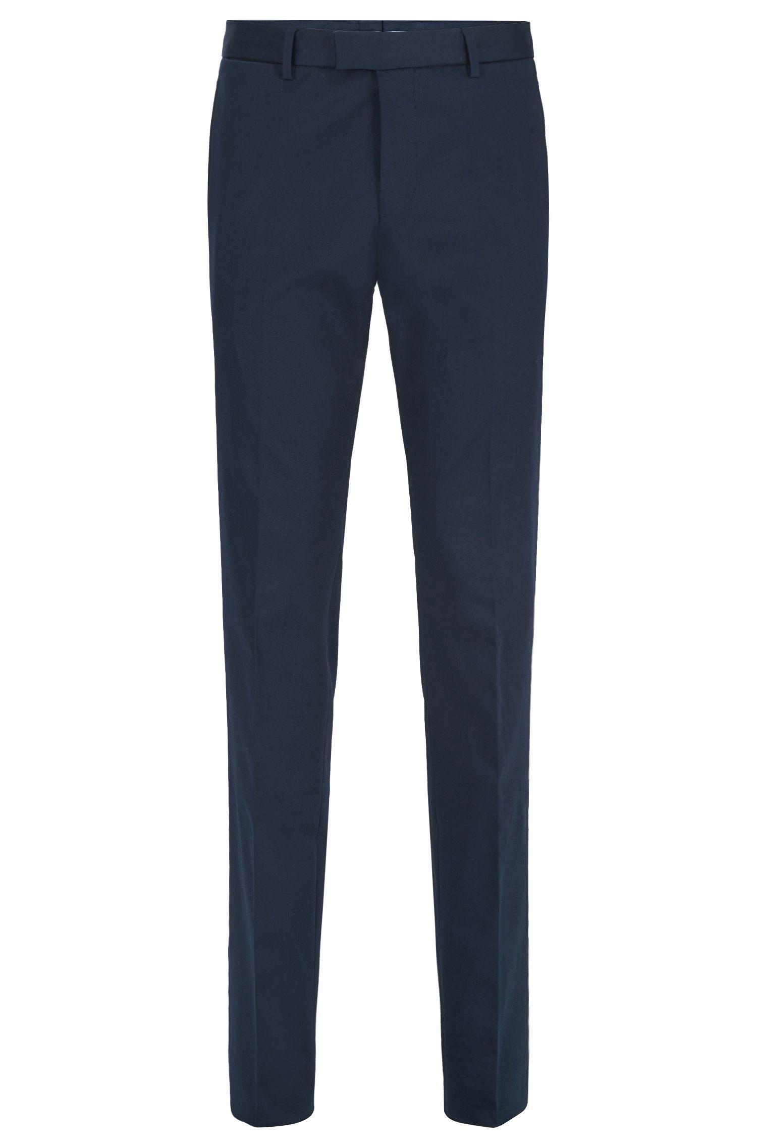 Stretch Cotton Dress Pant, Slim Fit | T-Blaine