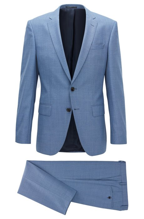 e272ab04b BOSS - Super 120s Virgin Wool Suit, Slim Fit | Huge/Genius