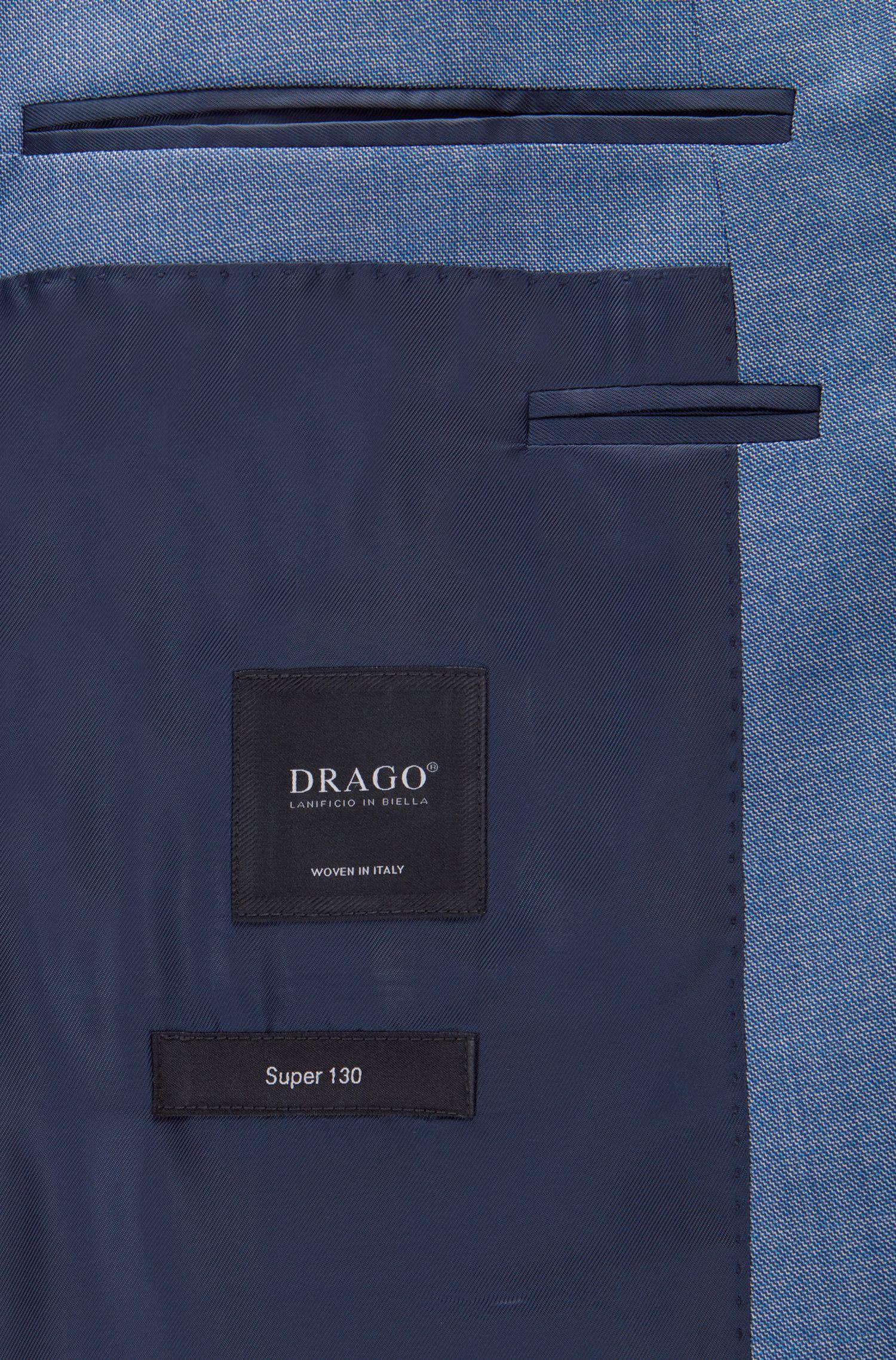 Super 120s Virgin Wool Suit, Slim Fit | Huge/Genius, Light Blue