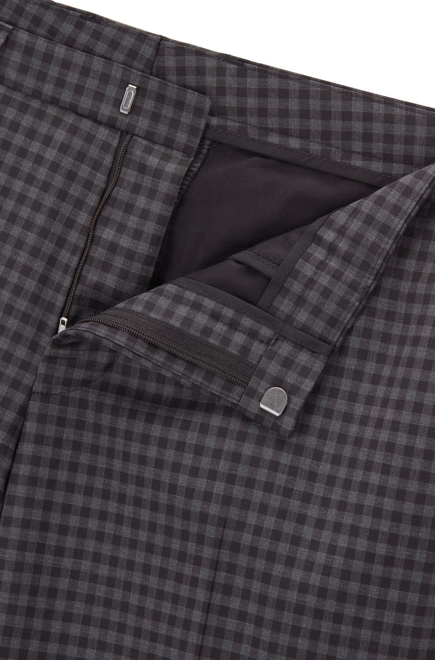 Italian Virgin Wool Suit, Extra Slim Fit | Reymond/Wenten, Open Grey