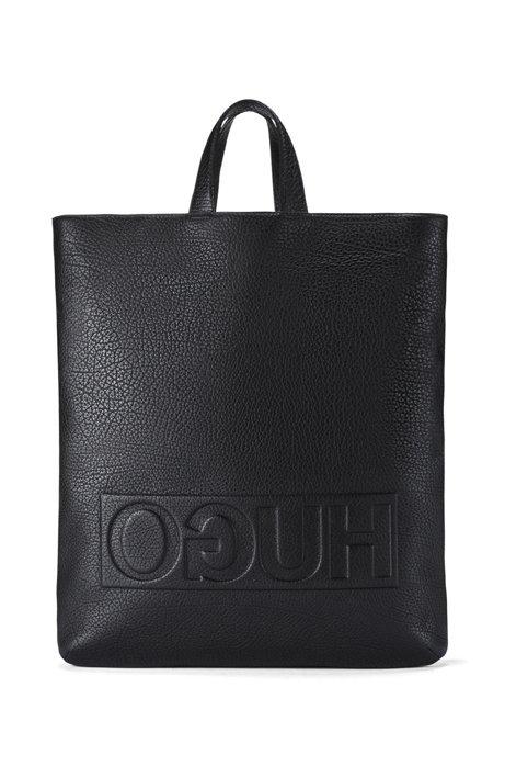 15efe02ffae HUGO - Leather Tote Backpack   Victorian L Tote Bac