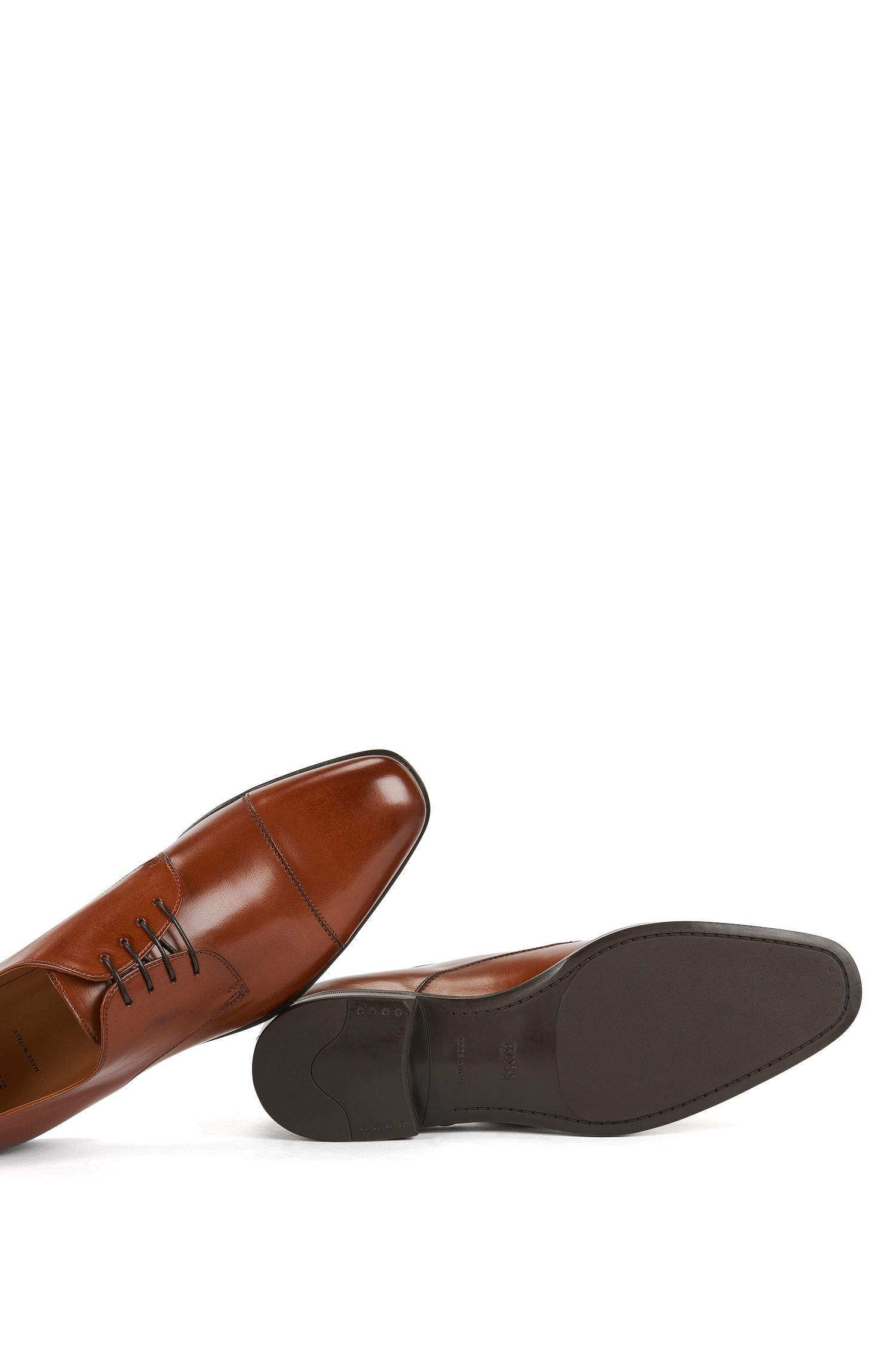 Cap-Toe Derby Shoe | Kensington, Brown