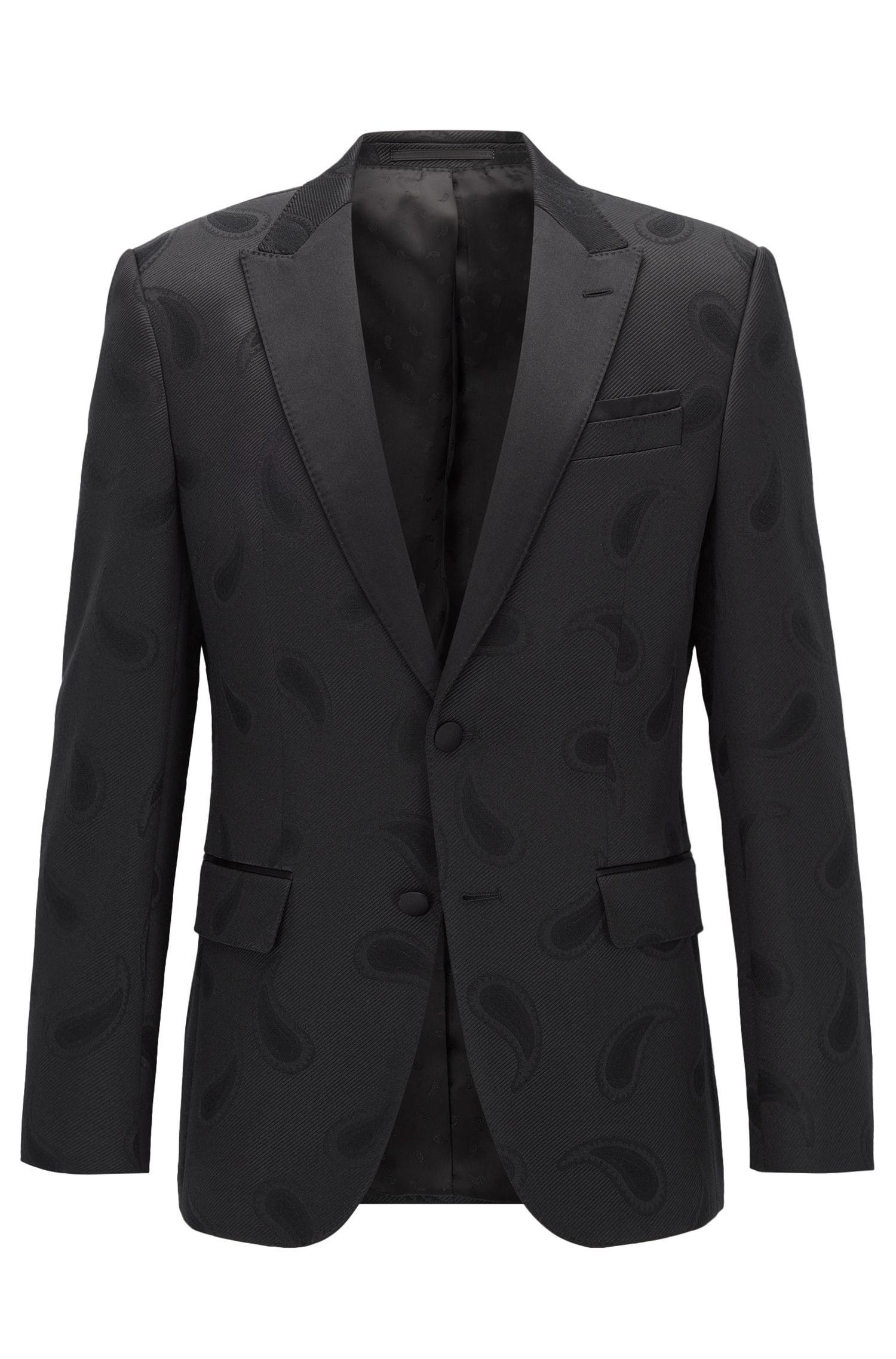 Stretch Paisley Sport Coat, Slim Fit | Helward