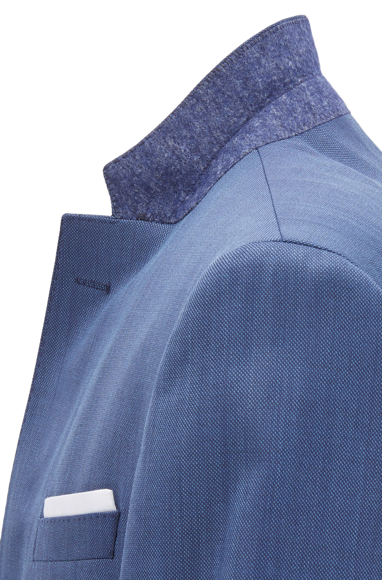 Nailhead Virgin Wool Suit, Slim Fit | Hutson/Gander