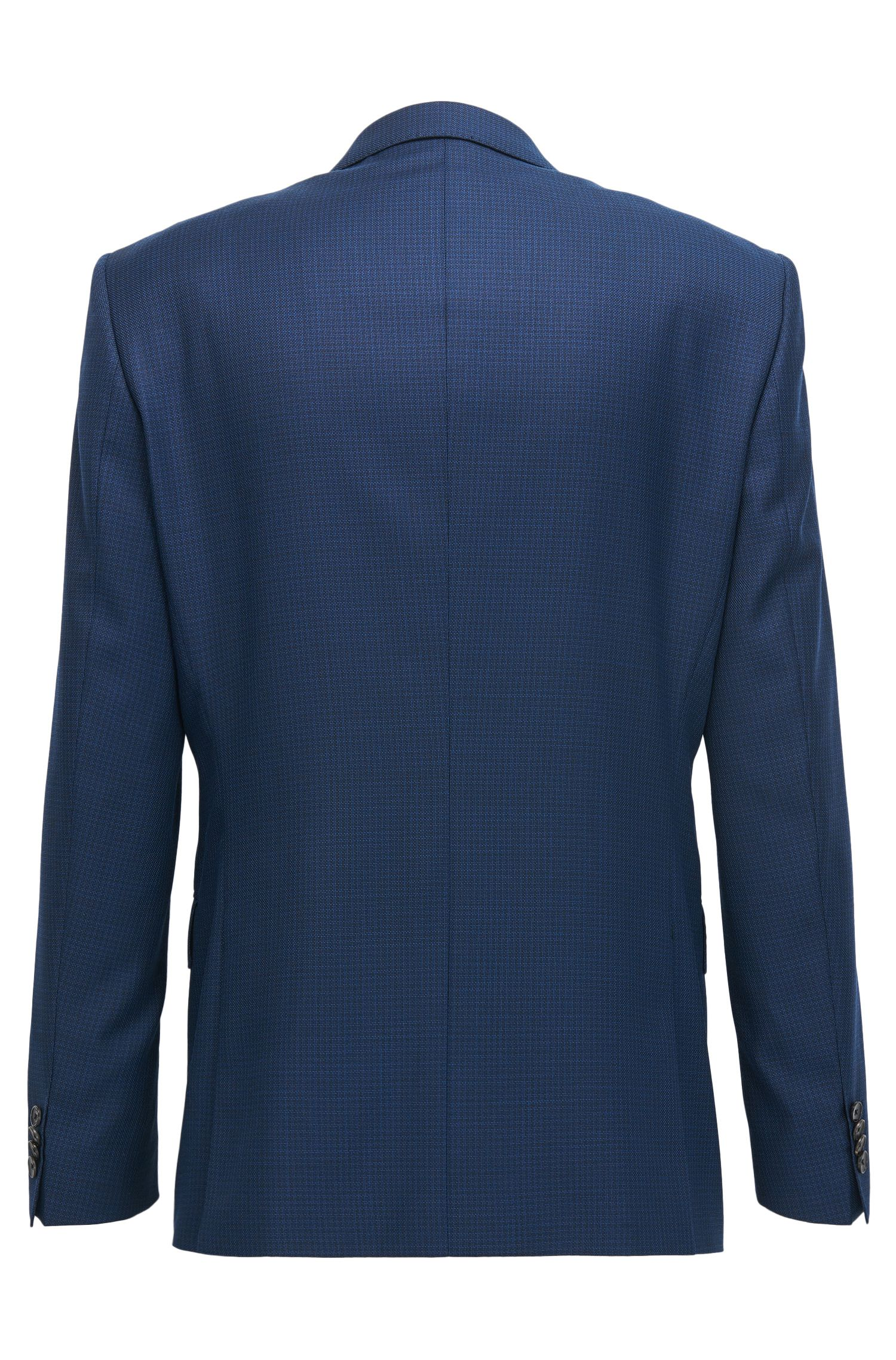 Stretch Tailoring Italian Wool Suit, Slim Fit | Huge/Genius