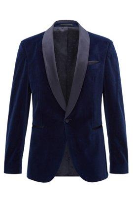 Velvet Dinner Jacket, Slim Fit | Nemir