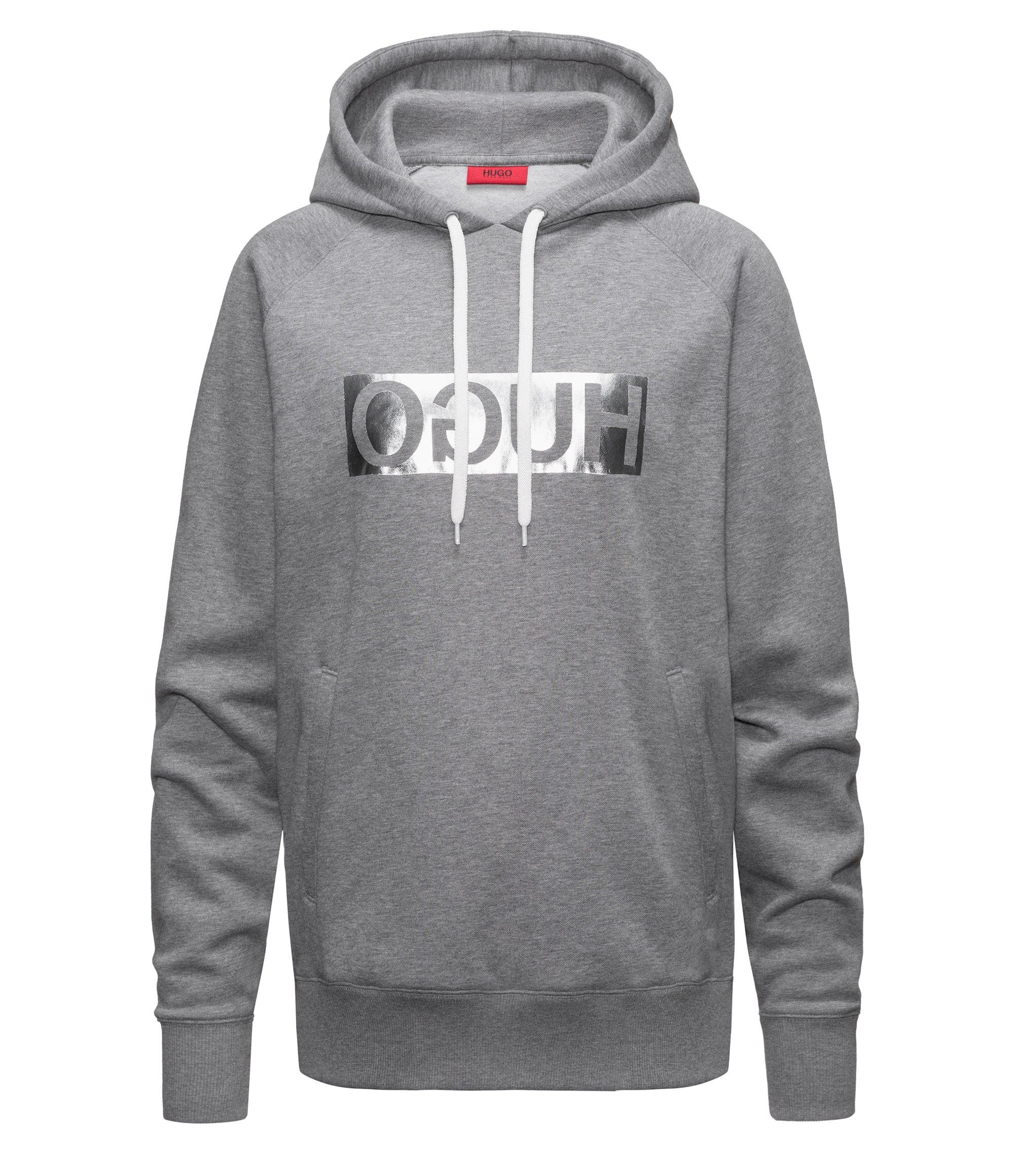 Unisex Hoodie | D/Unisex Silver, Grey