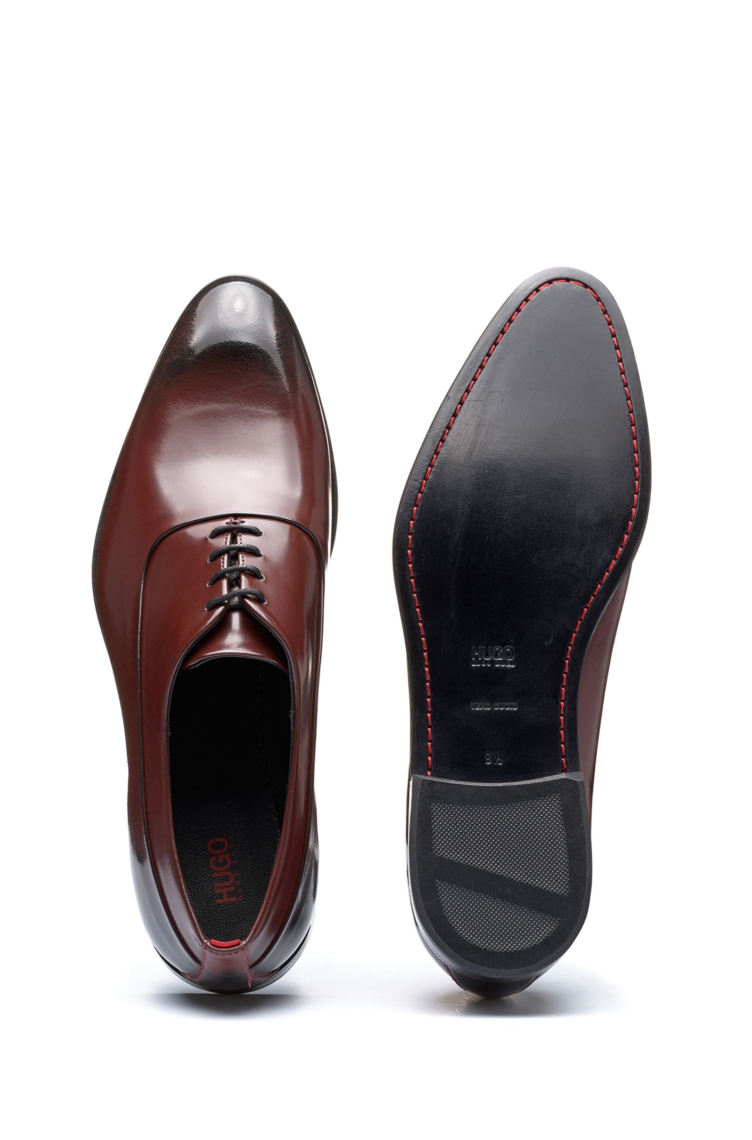 Leather Oxford Dress Shoe | Appeal Oxfr Bo, Dark Red