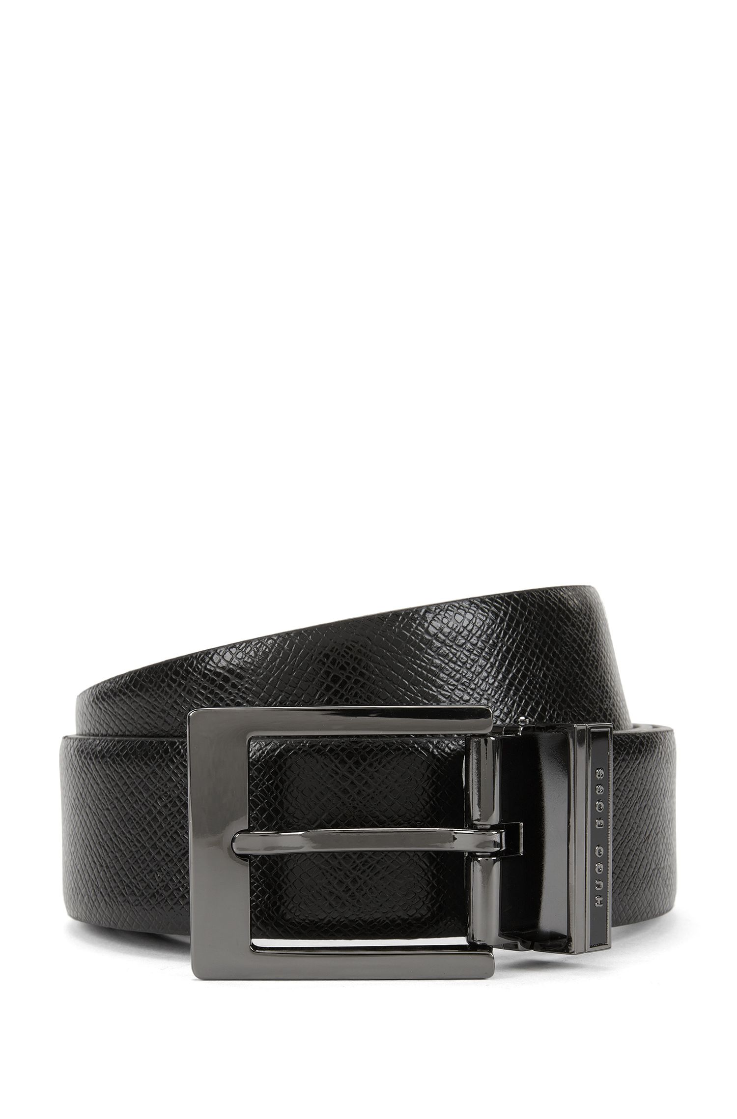 Embossed Leather Belt | Olaf Or35 Ps