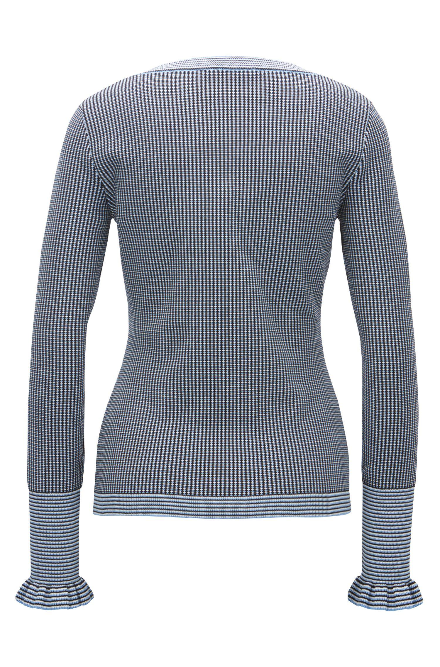 Italian Stretch Sweater   Firusa