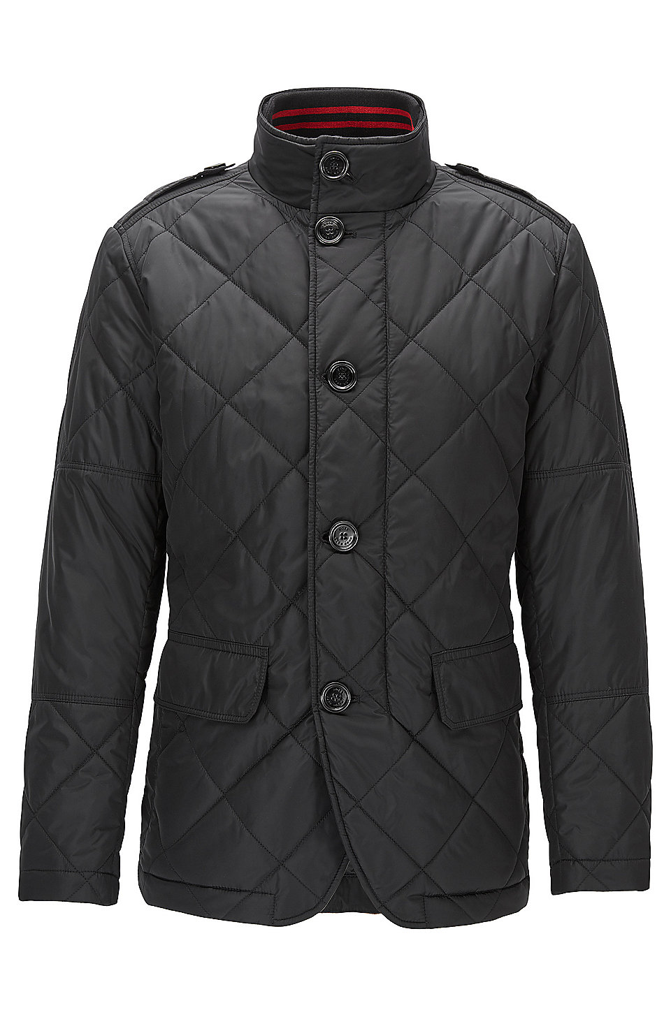 boss water repellent quilted jacket cadell. Black Bedroom Furniture Sets. Home Design Ideas