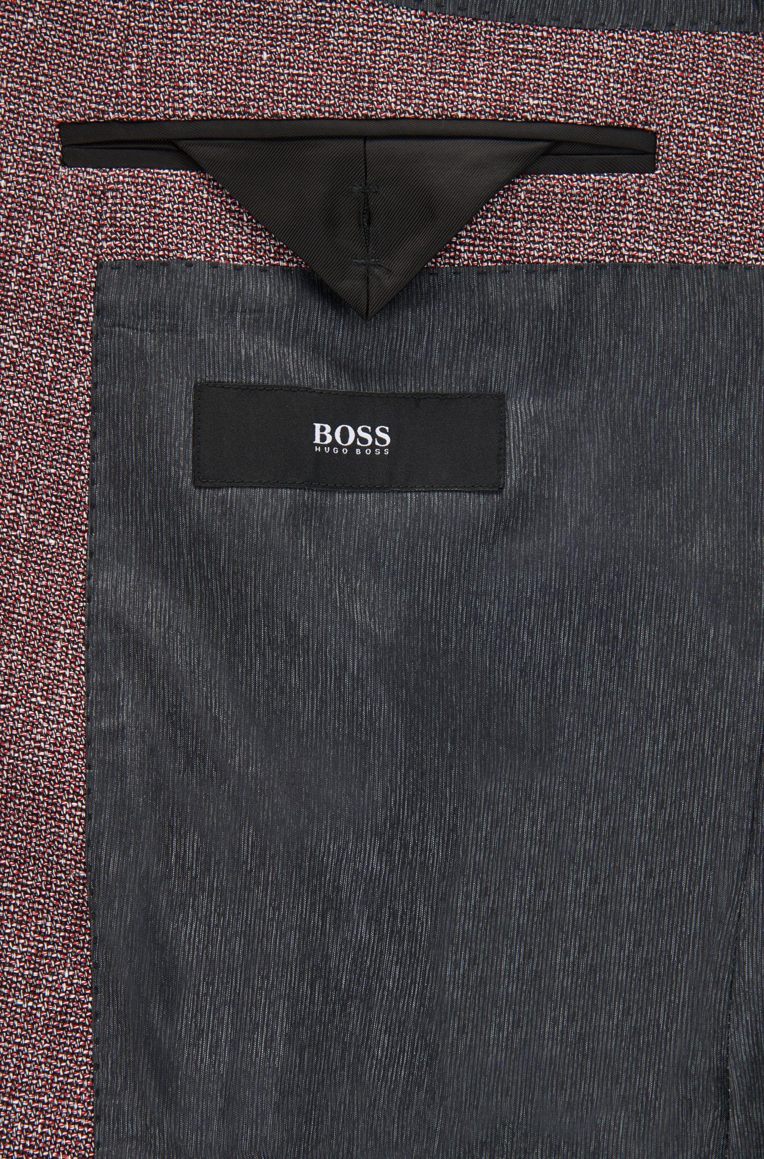 Melange Cotton-Linen Sport Coat, Slim Fit | Hutsons
