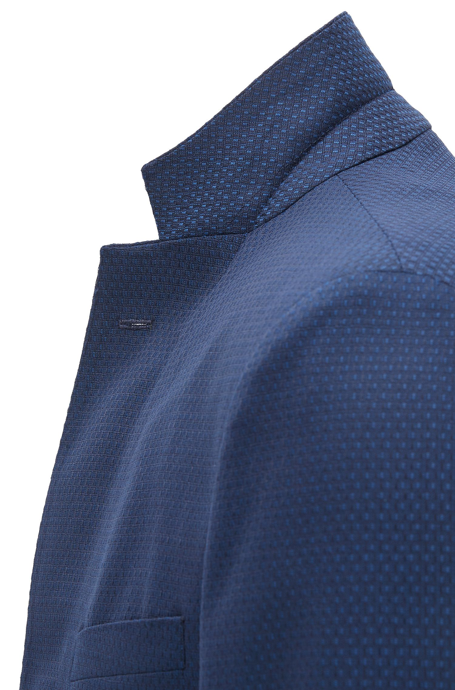 Basketweave Virgin Wool Sport Coat, Extra Slim Fit | Roan